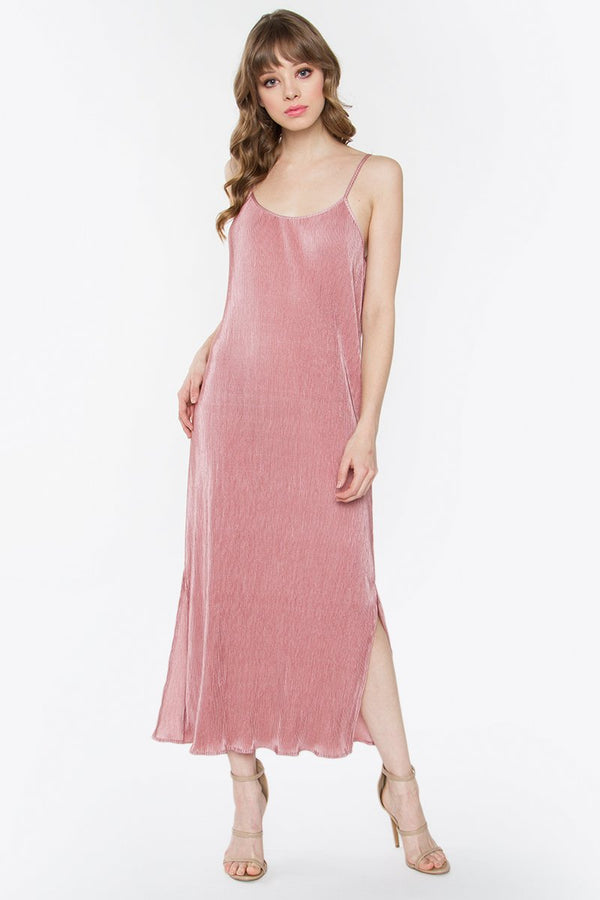 Giselle Pleated Maxi Dress