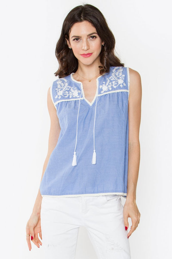 Karalea Embroidered Top