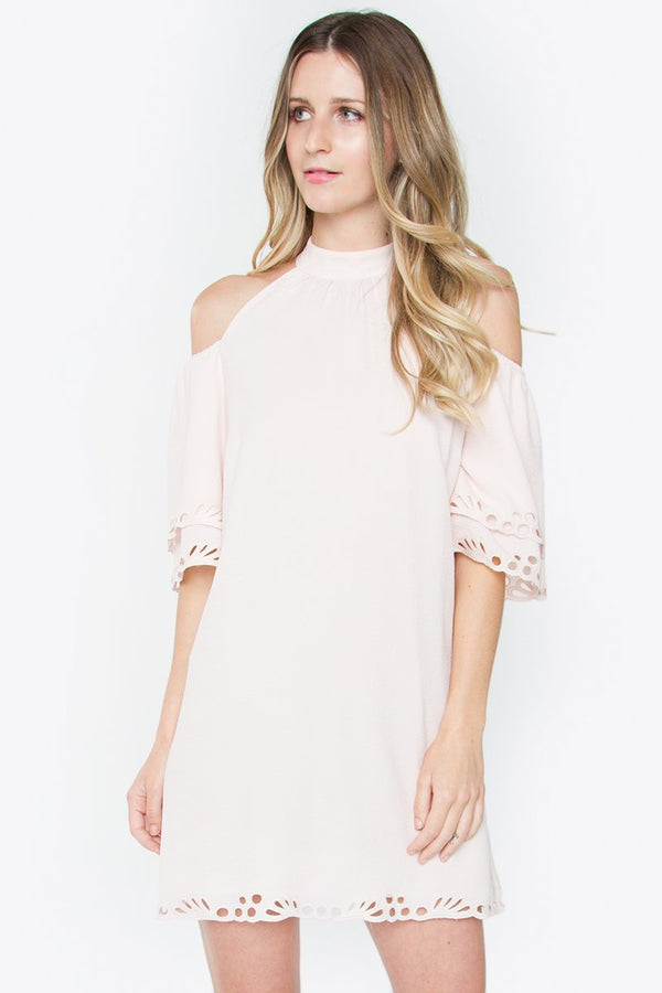 Sable Cold Shoulder Dress