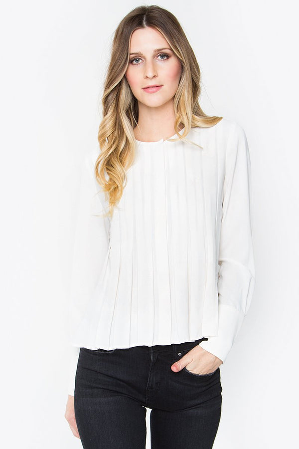 Emi Pleated Shirt