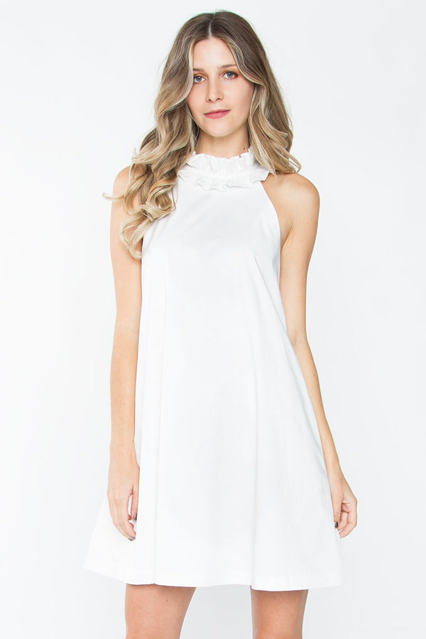 Igne Ruffle Shift Dress