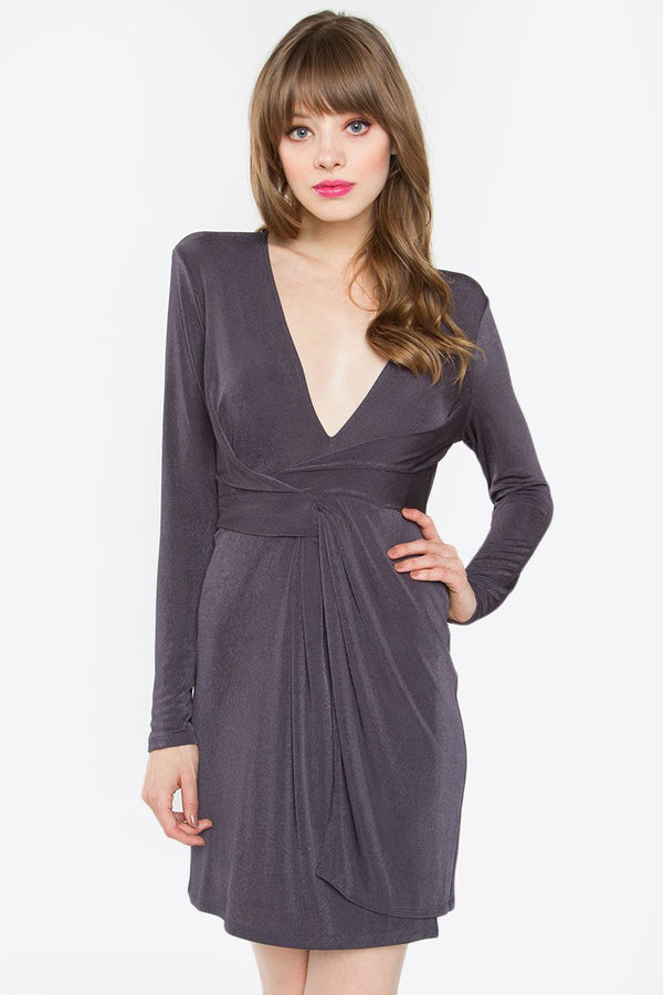 Ainsley Twist Knit Dress