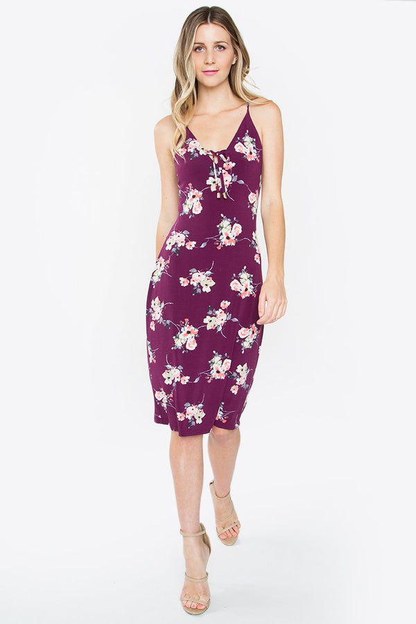 Karissa Floral Midi Dress