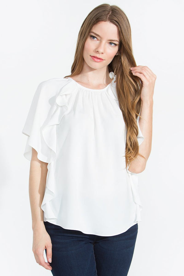 Janie Open Shoulder Top