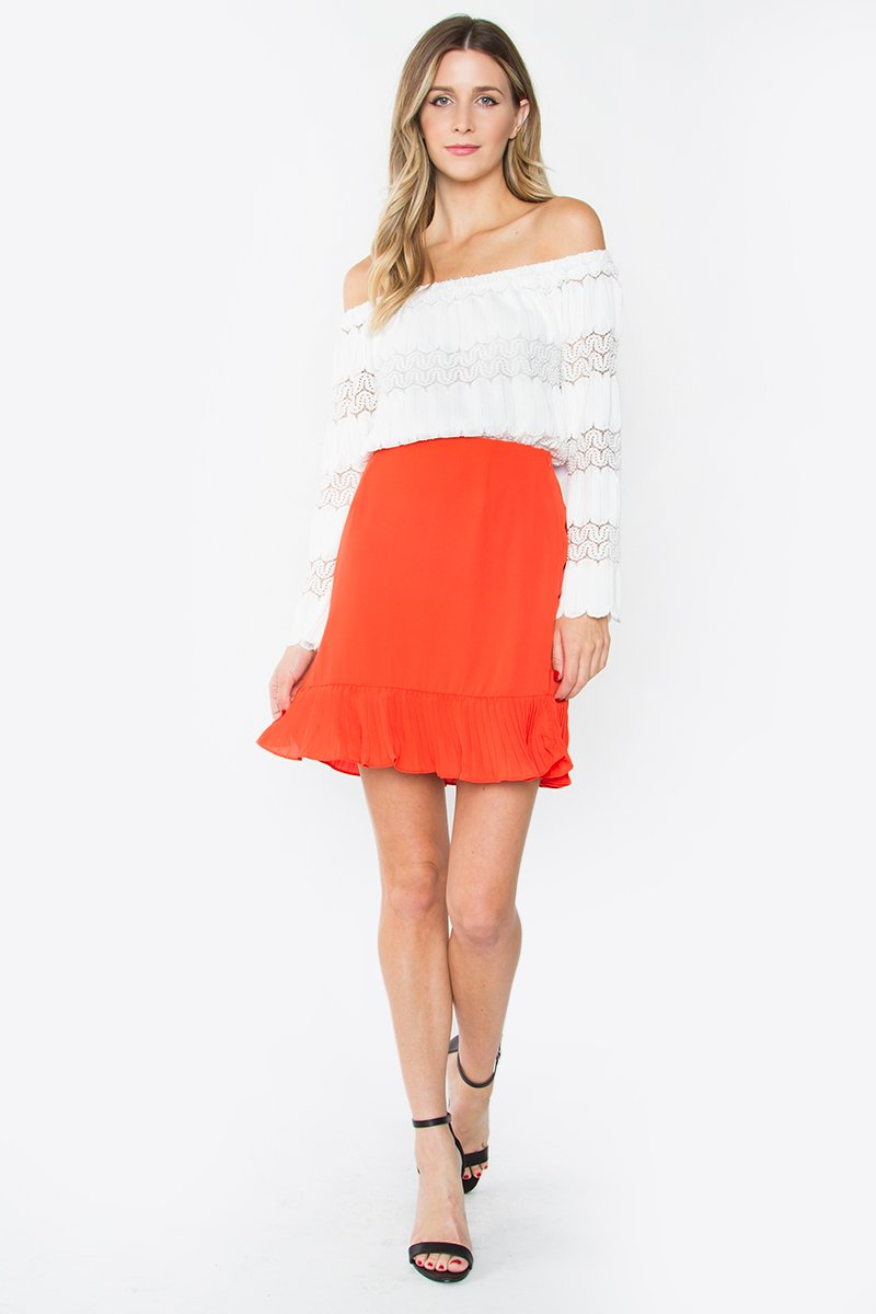 Candance Pleated Skirt