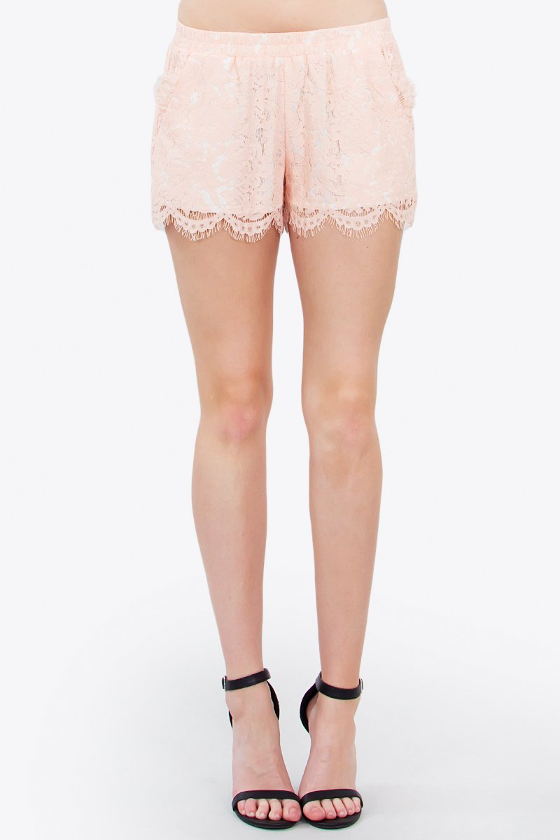 Fairytale Lace Shorts