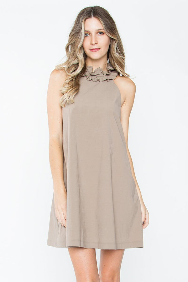 Alitza Ruffle Shift Dress