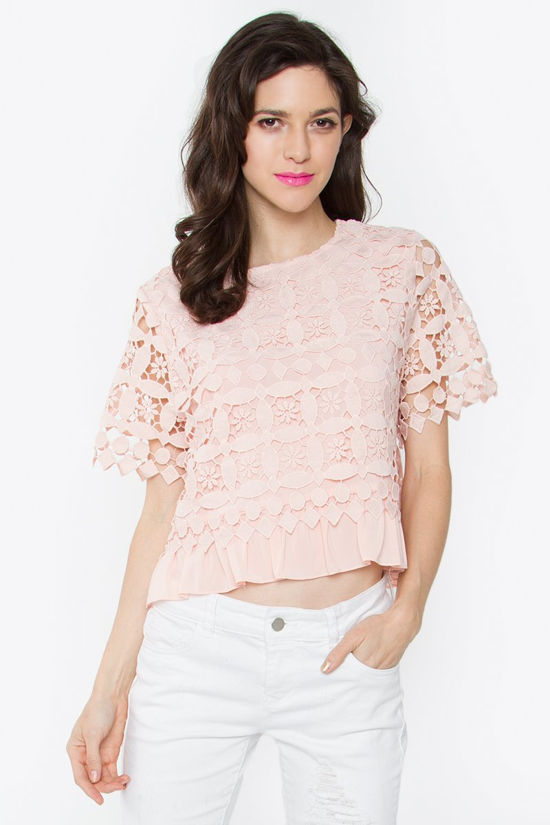 Margo Crochet Crop Top