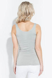 Thin Stripes Seamless Tank Top