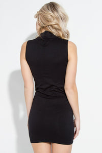 Seamless Mock Neck Dress