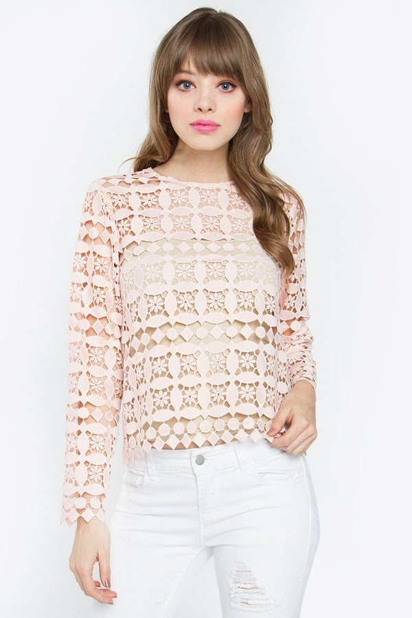 Margo Crochet Top