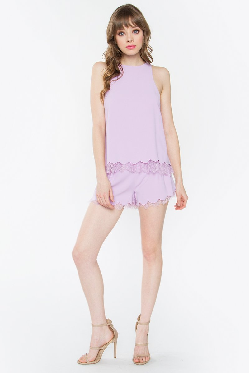 Windsor Lavender Shorts