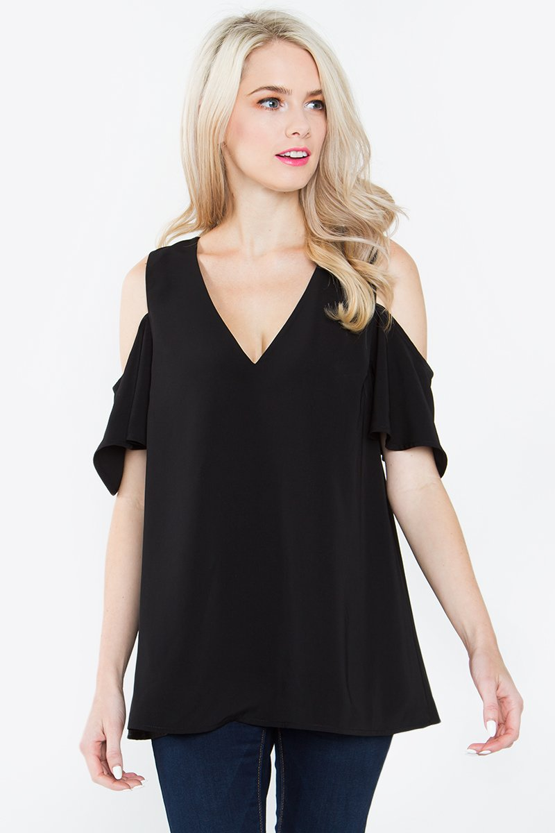 Tanner Cold Shoulder Top