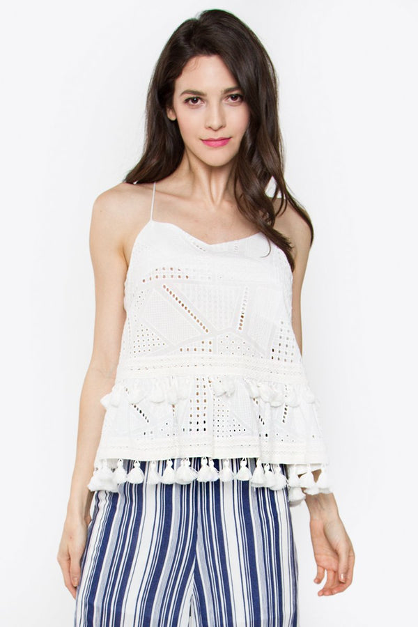 Knox Eyelet Cami Top