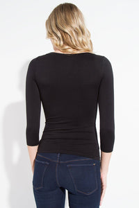 Seamless 3/4 Sleeve Top