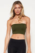 Seamless Crop Tube Top