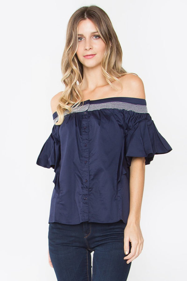 Catalina Off The Shoulder Top