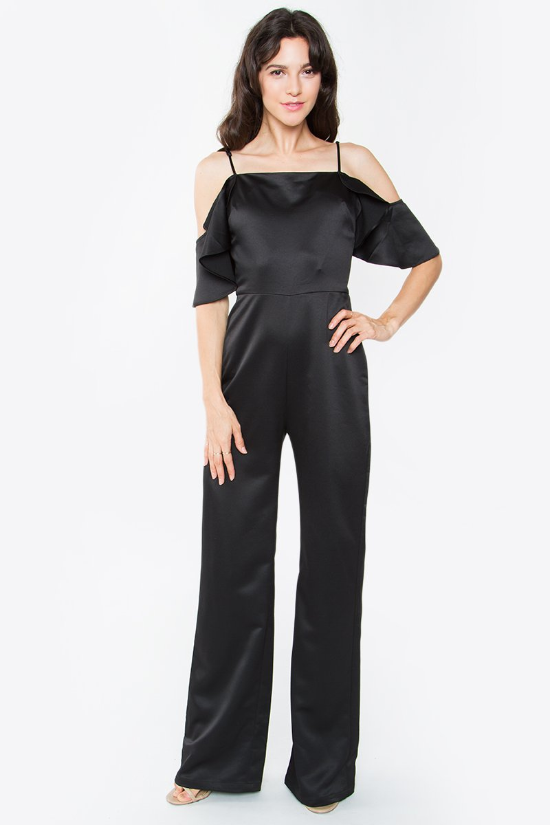 Cristina Cold Shoulder Jumpsuit