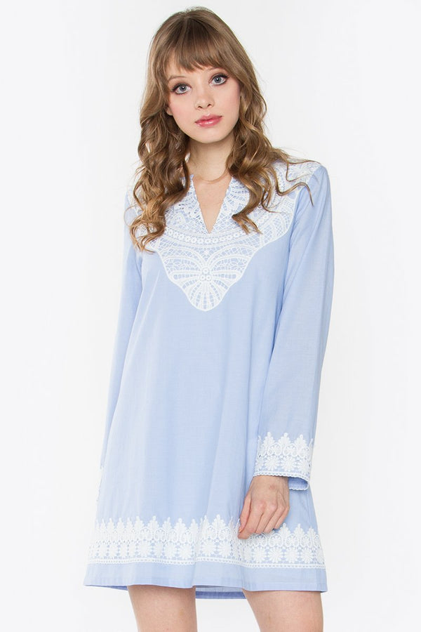 Neolla Chambray Dress