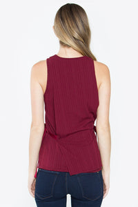 Daria Sleeveless Knit Top