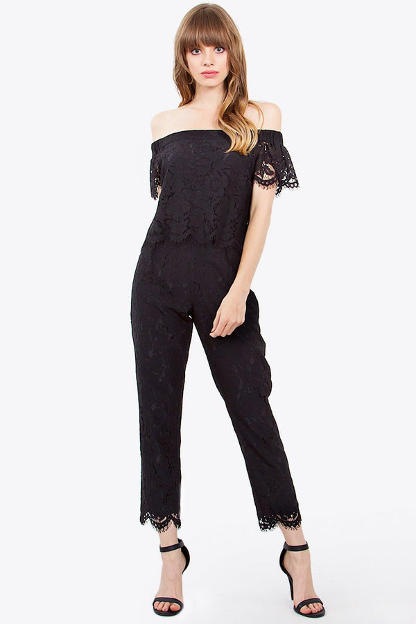 Only One Lace Jumpsuit
