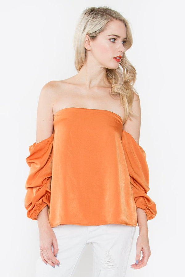 Seidure Off The Shoulder Top