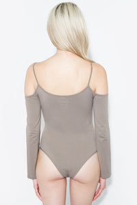 Seamless Cold Shoulder Bodysuit