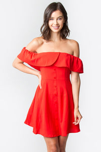 Evalina Off The Shoulder Dress
