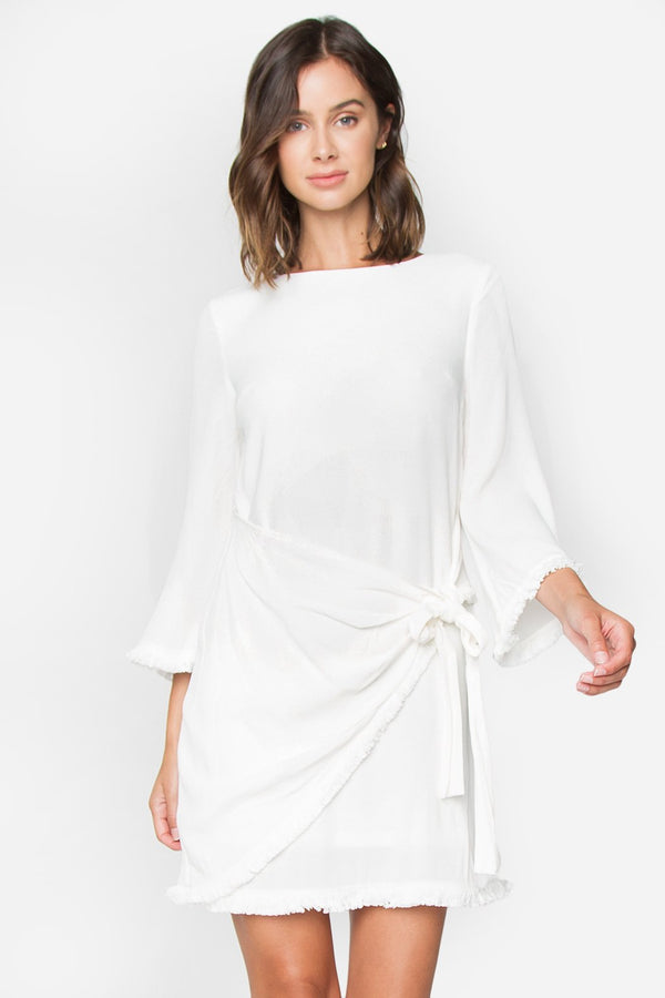Angel Face Wrap Dress