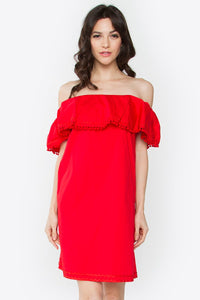 So Sweetly Off the Shoulder Dress