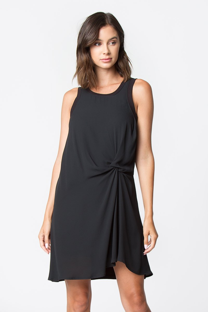 Jessamy Twist-Front Dress