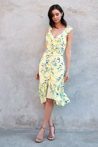 Petunia Ruched Floral Dress