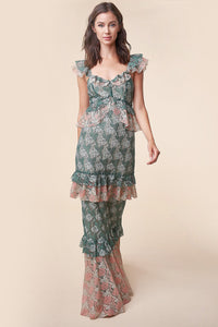 Loni Lace Maxi Dress