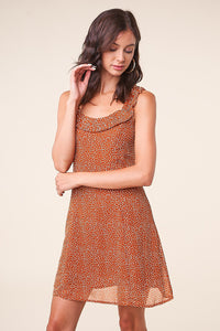 Dee Dee Polka Dot Shift Dress