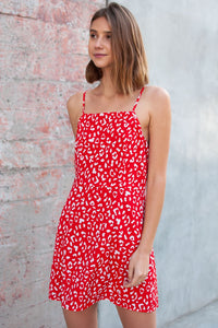 Bahia Square Neck Dress