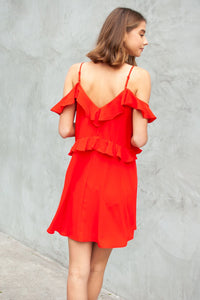 Nicoya Ruffle Dress