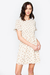 Maree Floral Smocking Dress