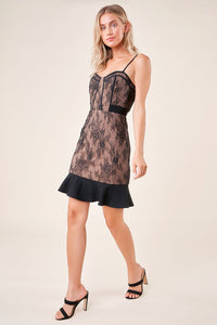 Lady Marmalade Bustier Dress