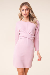 Blushington Cross Front Novelty Dress