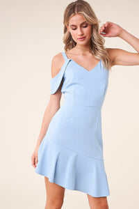 Lula Asymmetric Sleeve Dress