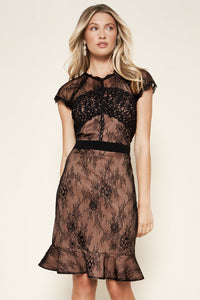 Icona Lace Inset Dress