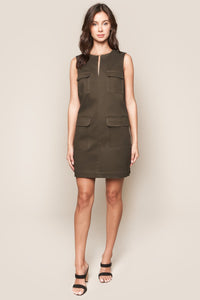 Abigail Utility Shift Dress
