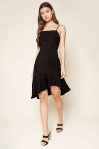 Love Someone High-Low Mini Dress