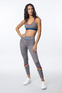 Chevron Spacedye Legging