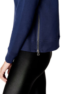 Off Duty Side-Zip Sweatshirt