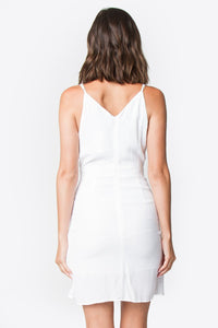 Natalia Mini Wrap Dress