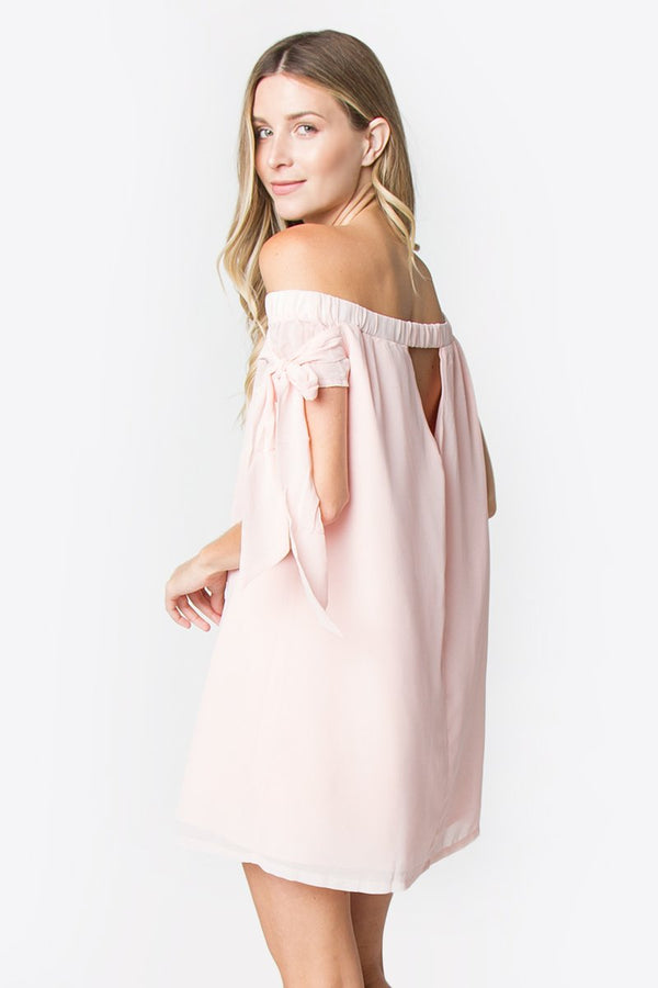 Bridgett Off The Shoulder Dress