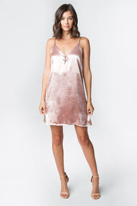 Daniella Blush Slip Dress