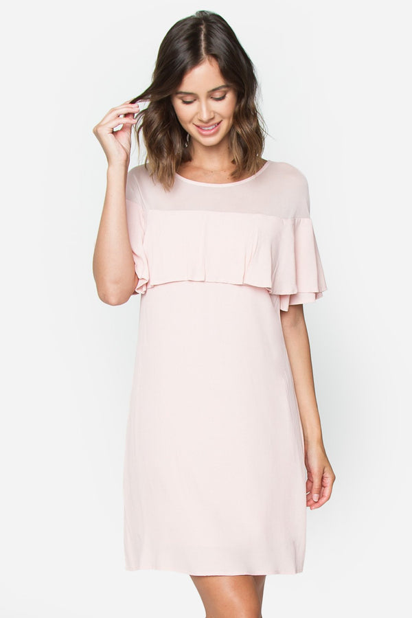 Anastasia Ruffle Layered Dress