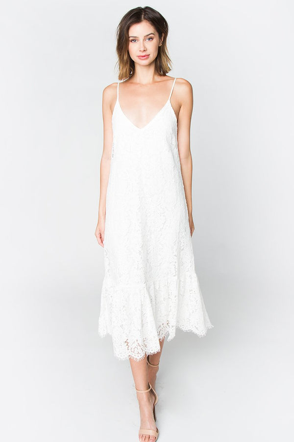 Nixie Lace Slip Dress